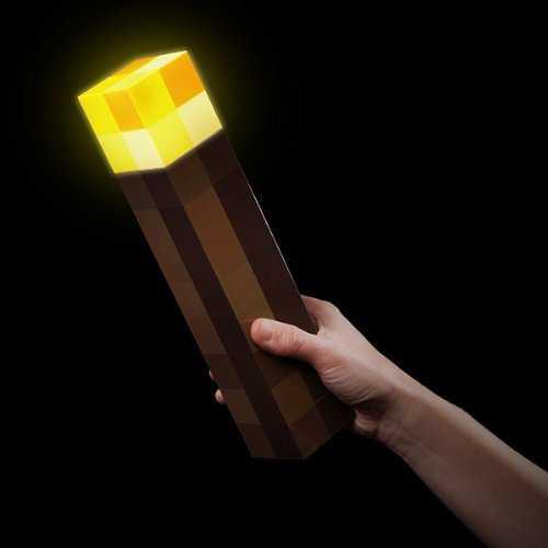 Antorcha con luz Minecraft