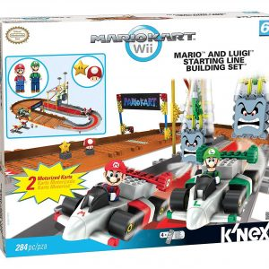 K'nex Mario Kart: Mario and Luigi Starting Line Building Set