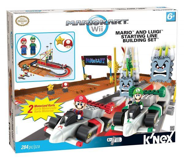 K'nex Mario Kart: Mario and Luigi Starting Line Building Set