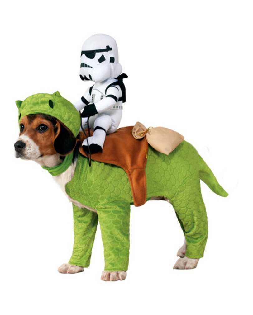 Disfraz para perros Dewback con Stormtrooper