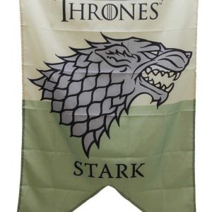Estandarte Stark Game of Thrones