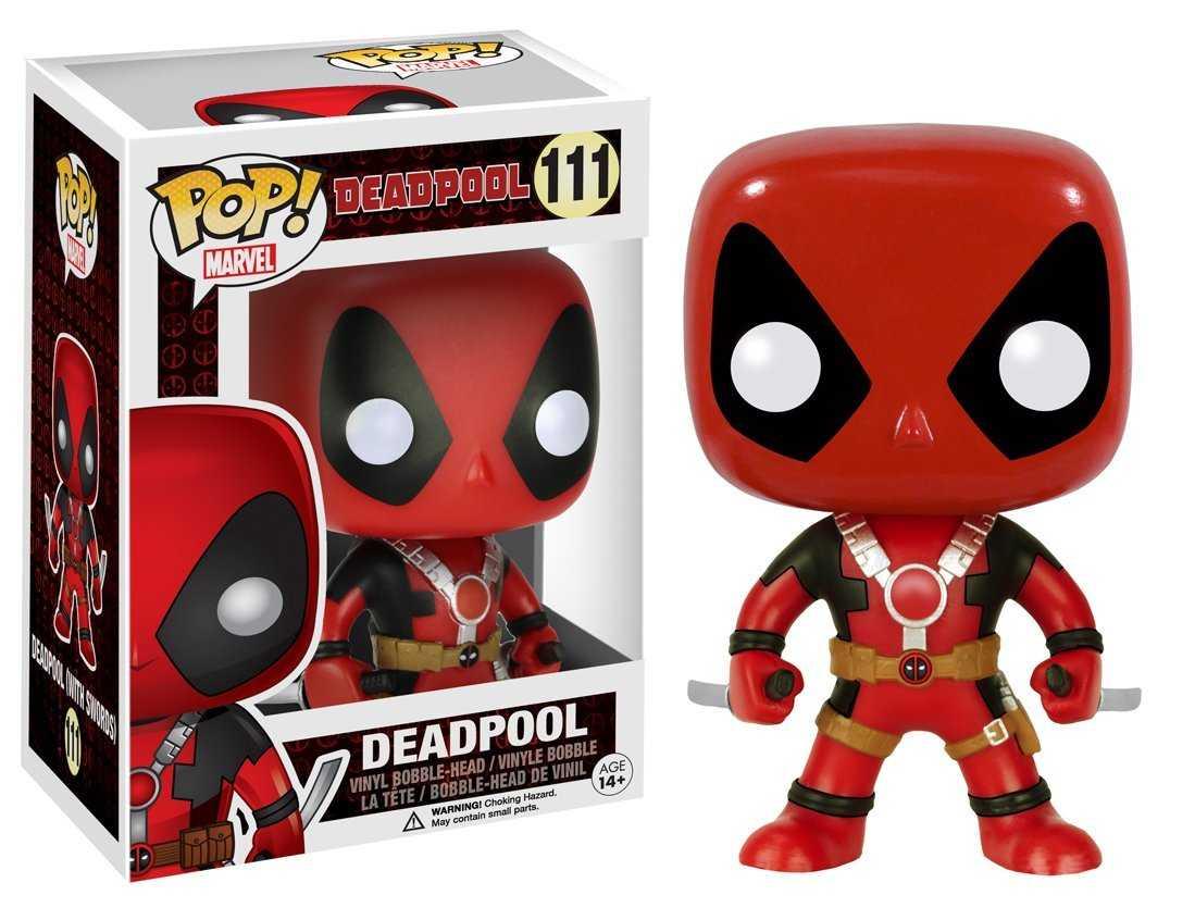 Figura coleccionable Pop de Deadpool