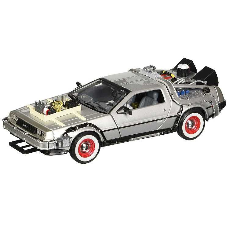 Réplica del Delorean de Back to the Future