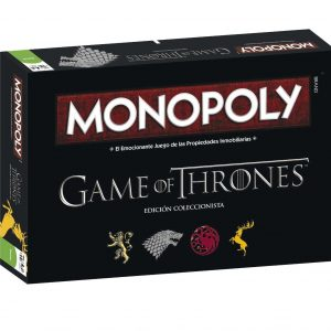 Juego de mesa Monopoly game of thrones