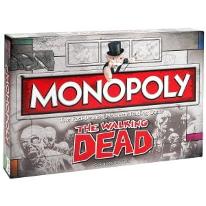juego de mesa monopoly the walking dead: survival edition