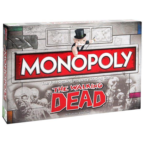 juego de mesa monopoly the walking dead: survival edition
