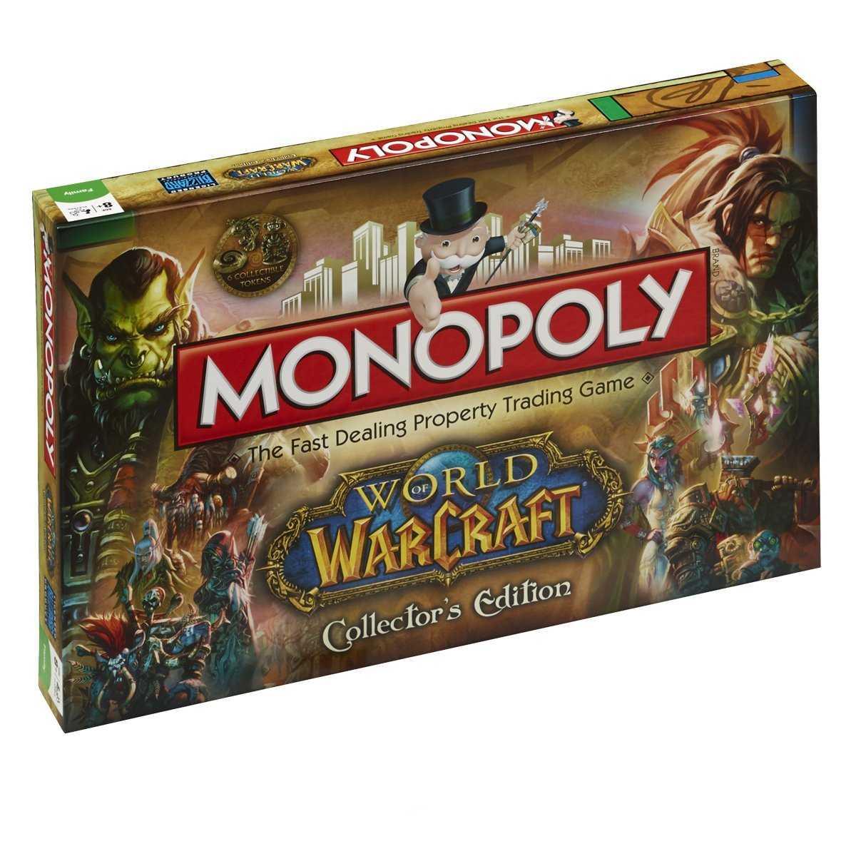 juego de mesa monopoly wow