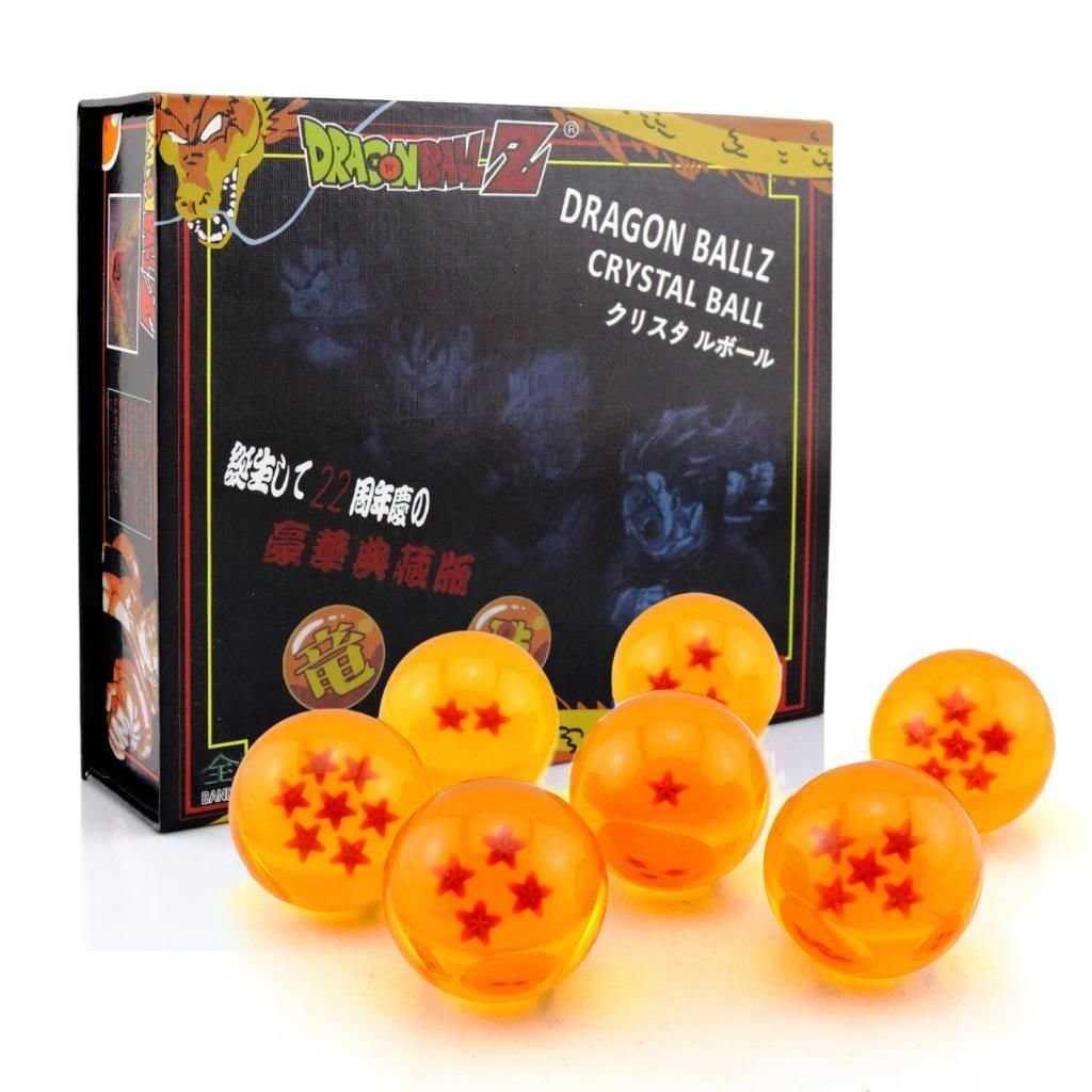 7 bolas de dragon de cristal