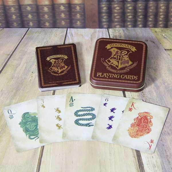 juego de cartas con dibujos de harry potter