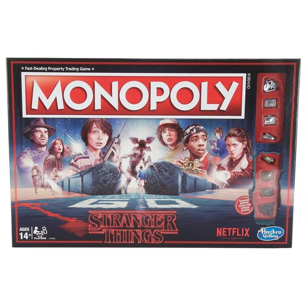 Juego de mesa Stranger Things (Monopoly)
