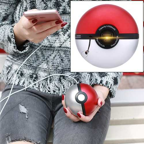 Powerbank Pokeball USB