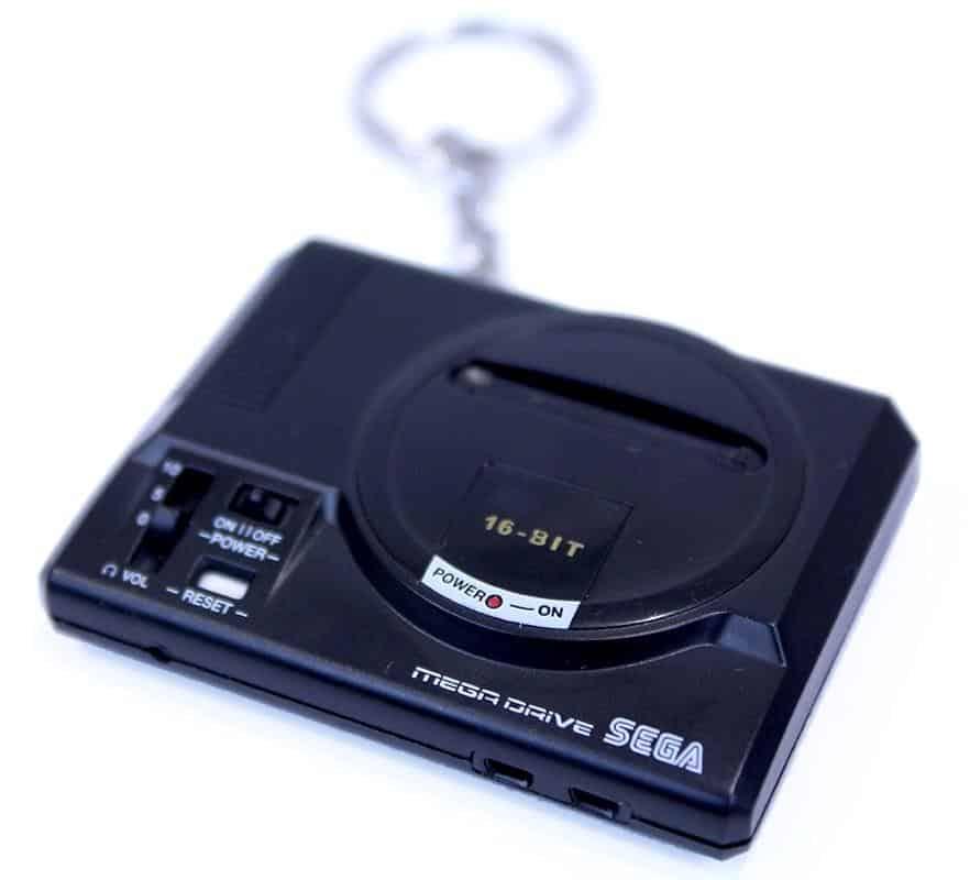 Llavero Retro Sega Genesis