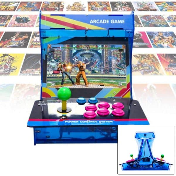 recreativa doble pantalla multiplayer
