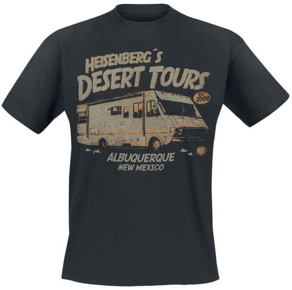 """Camiseta Breaking Bad """"Heisenberg Desert Tours"""""""