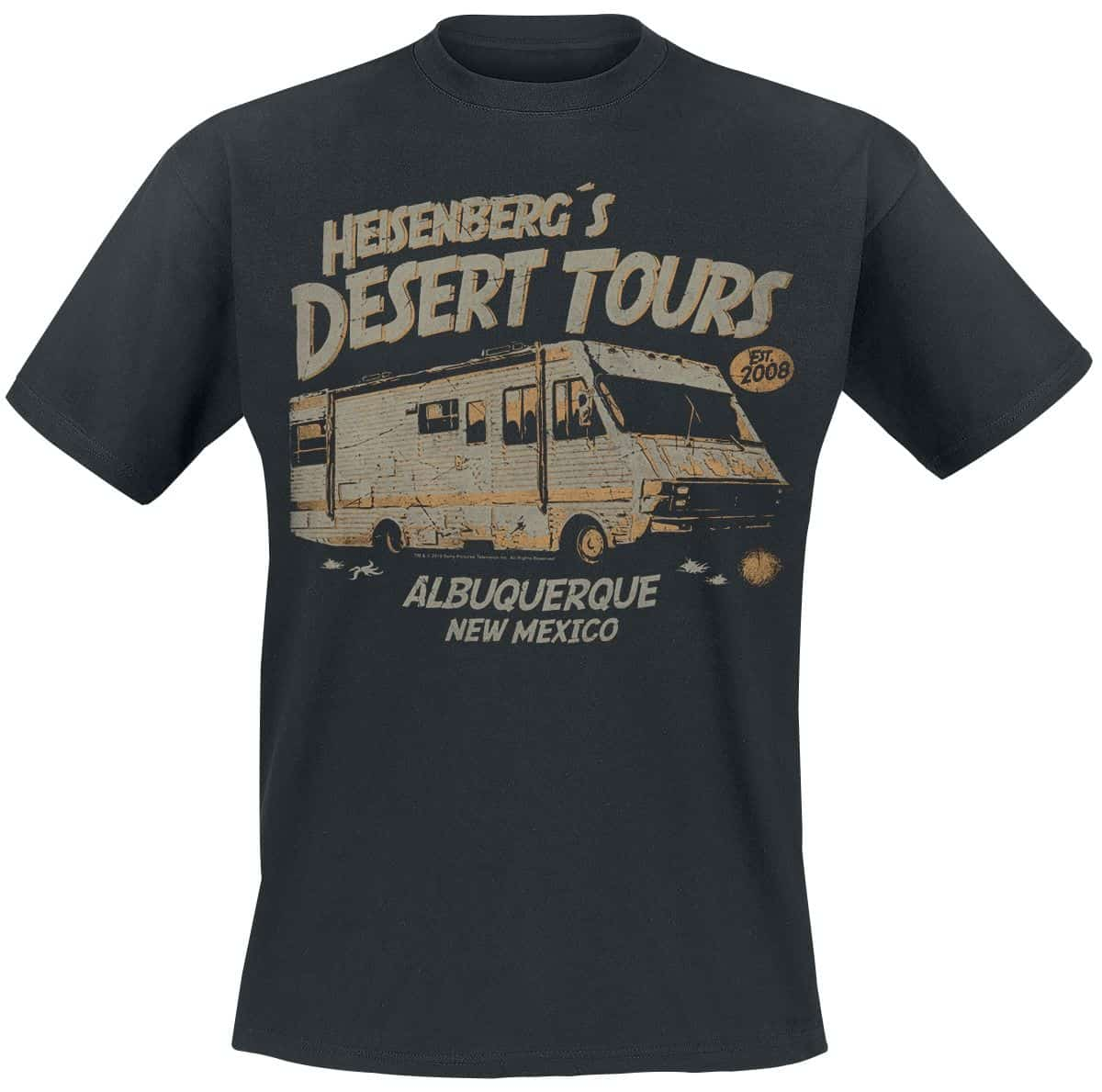 "Camiseta Breaking Bad ""Heisenberg Desert Tours"""