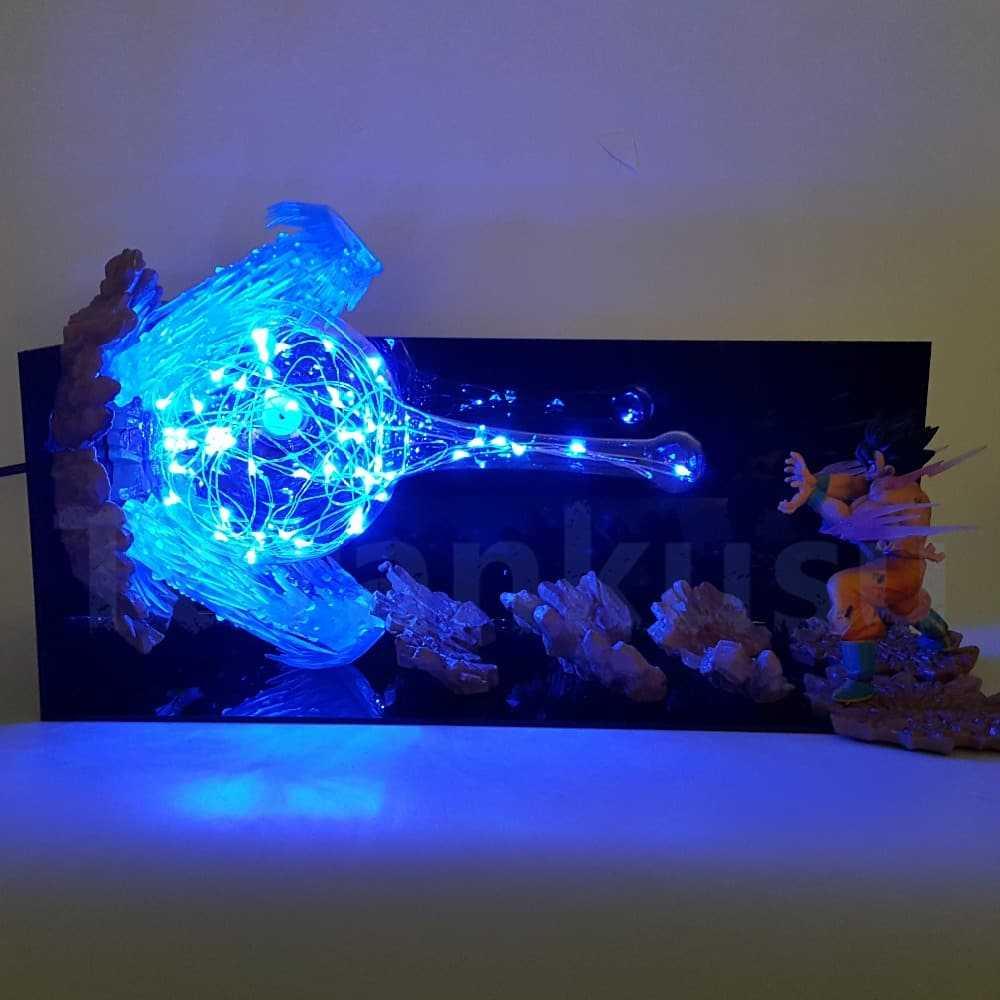 kamehameha lamp dragon ball