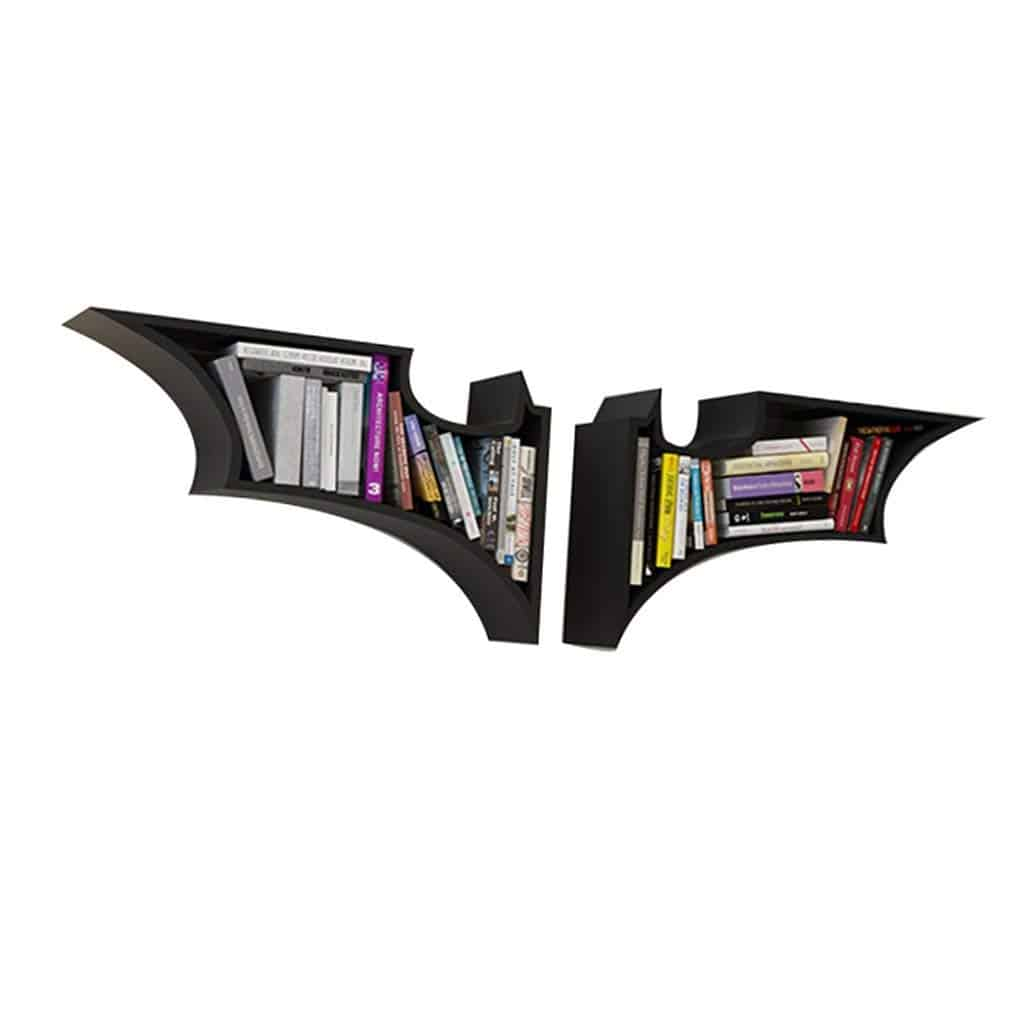 estanteria emblema batman