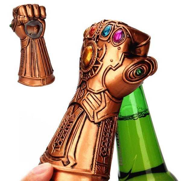 Abridor de botellas guantelete Infinito Marvel Comics
