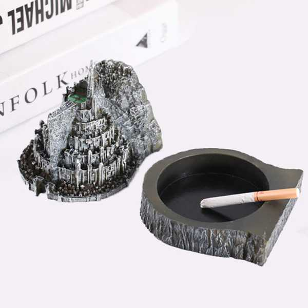 cenicero decorativo de el señor de los anillos minas tirith