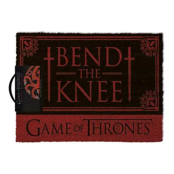 "Felpudo ""Bend the Knee"" Game of Thrones"
