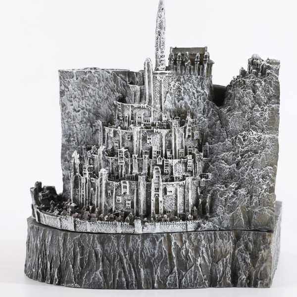 replica miniatura minas tirith con cenicero
