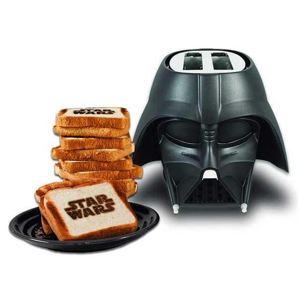 Gadget de cocina tostadas star wars