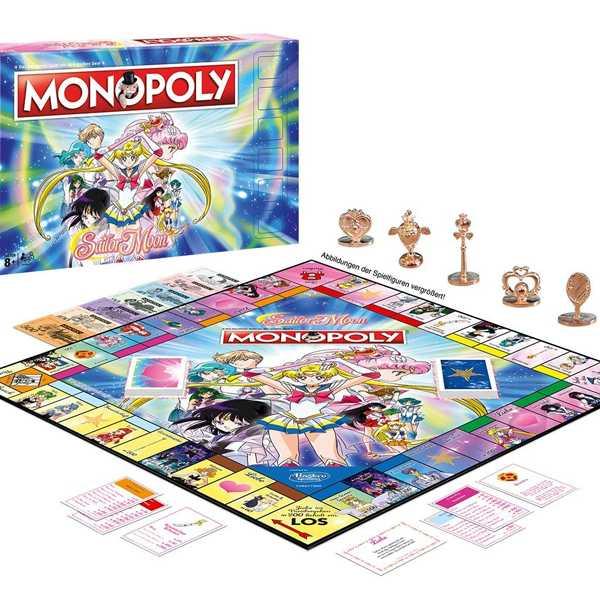 juego de mesa monopoly sailor moon