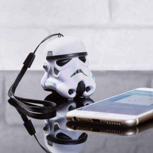 Altavoz Bluetooth para smartphone Stormtrooper