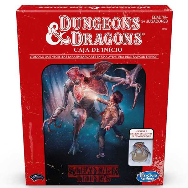 comprar dungeons and dragons stranger things juego de mesa