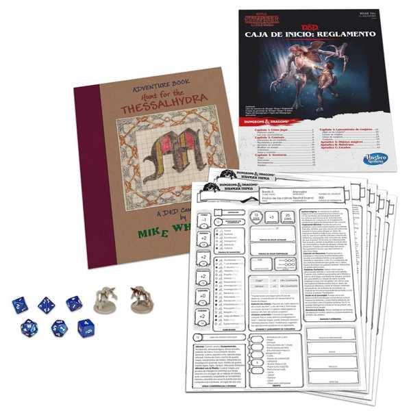 juego de mesa dungeons & dragons inspirado en la serie stranger things de netflix