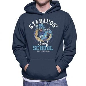 sudadera pokemon gyarados surf school
