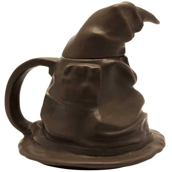 taza sombrero seleccionador harry potter lateral