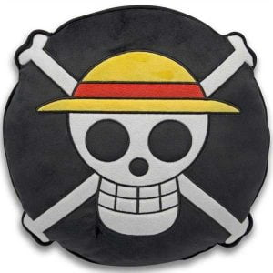 cojin decorativo calavera one piece