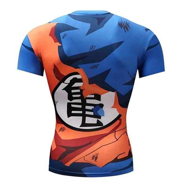 camiseta deporte gimnasio goku kame