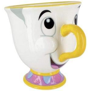 taza cafe parlante disney bella y bestia