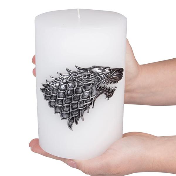 vela decorativa stark tamaño gigante