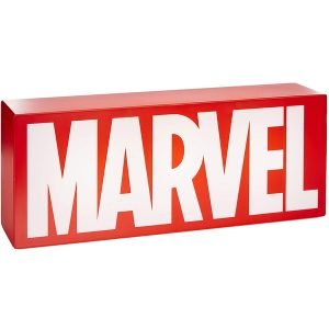 logotipo marvel iluminado