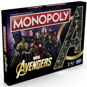 juego de mesa monopoly avengers