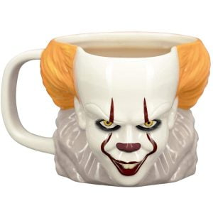 taza 3d payaso IT