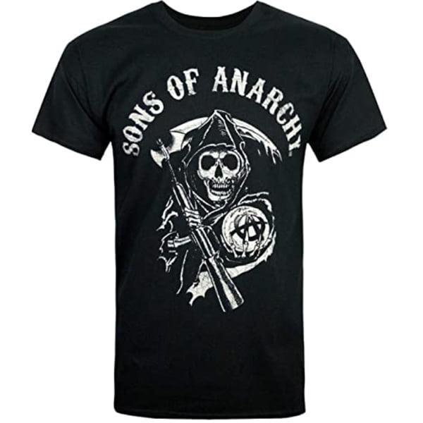 camiseta hijos de la anarquia reaper