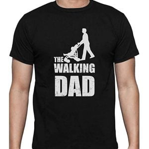 camiseta inspirada en the walking dead para padres