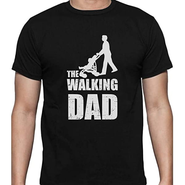 camiseta inspirada en the walking dead para padres