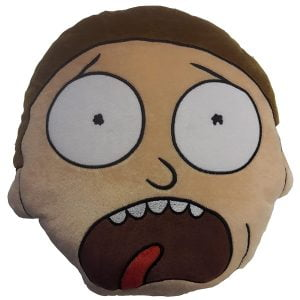cojin decorativo de rick y morty
