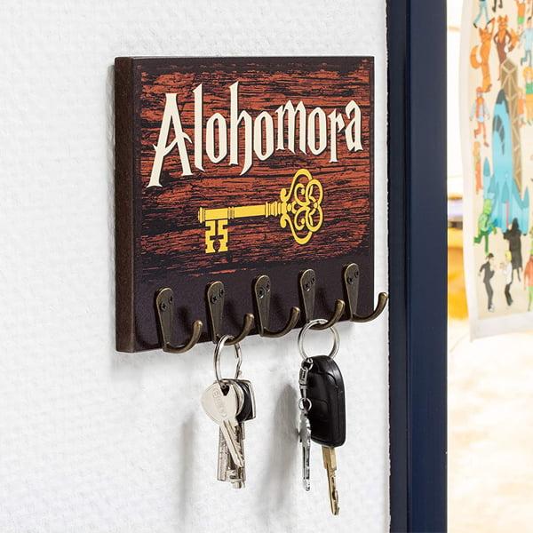 cuelga llaves recibidor harry potter