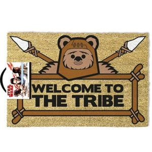 felpudo welcome to the tribe ewoks