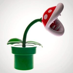 lampara nintendo planta carnivora