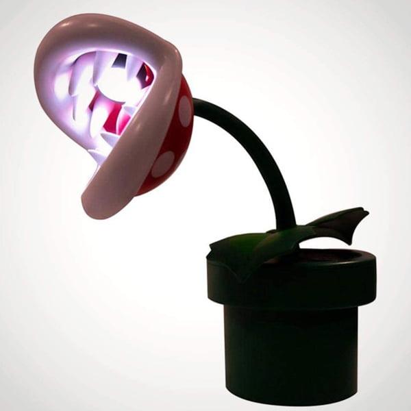 lampara marios bros planta carnivora