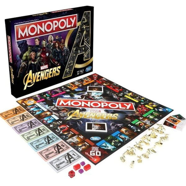 monopoly avengers table game
