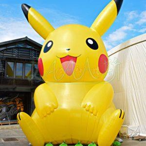 pikachu hinchable de grandes dimensiones