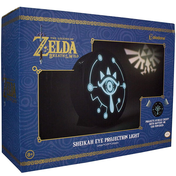lampara decorativa ojo sheikah the legend of zelda
